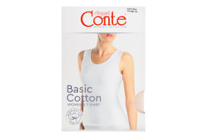 Майка жіноча Conte elegant Basic Collection №LM2020 170-84/XS natural