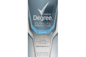 Degree Men Clinical Protection Anti-Perspirant Clean