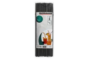 Трубочки для коктейлей гибкие 24см №54511 Fackelmann 50шт