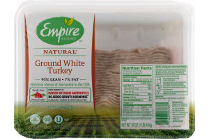 Empire Kosher Ground White Turkey