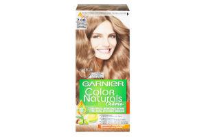 Крем-фарба для волосся стійка №7.00 Creme Color Naturals Garnier
