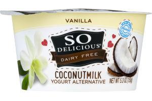 So Delicious Dairy Free Coconut Milk Yogurt Alternative Vanilla
