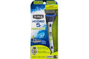 Schick Hydro 5 Power Select Power Razor