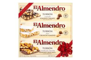 Туррон El Almendro в подарочной упаковке