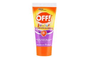 Крем від комарів для дітей від 5років Junior OFF! 50мл