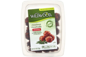 Wildwood Original Meatless Meatballs