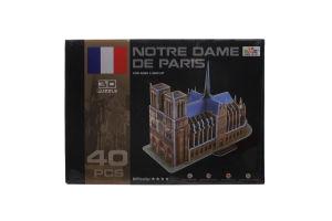 Пазл Ling Le Si 3D Собор Париж Богоматери 102993
