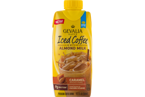 Gevalia Kaffe Iced Coffee with Almond Milk Caramel