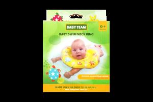 Круг надувной для купания детей от рождения Baby Team 1шт