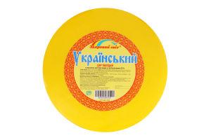 Сир 50% твердий Український Здоровий світ кг
