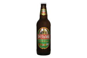 Пиво 0.5л 4.5% светлое непастеризованное Хмельпиво Хмельницкое бут