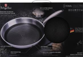 Сковорода з нержавіючої сталі 2.4л №ВН-6557 Berlinger Haus 1шт