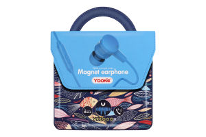 Навушники сині YK1000 Yookie 1шт