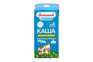Каша Яготинське Для дітей молочно-рисова 6м 200г x18