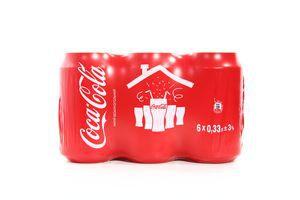 Вода Coca-Cola ж/б 0.33л 6шт