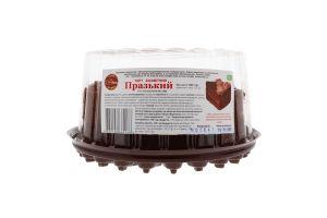 Торт бісквітний Празький Солодка хата п/у 1кг