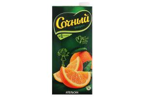 Нектар апельсиновый стерилизованный Сочный т/п 0.95л
