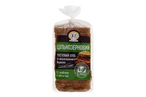 Хліб тостовий половинка в нарізці Цільнозерновий Рома м/у 0.39кг