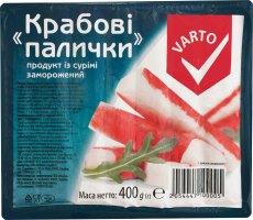 Крабові палички заморожені Varto м/у 400г