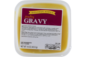 Holiday Sides Poultry Gravy