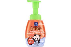 Kiss My Face Kids Self-Foaming Hand Wash Orange U Smart