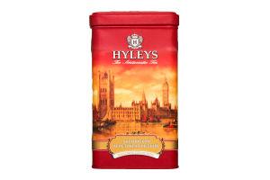 Чай черный крупнолистовой Английский аристократический Hyleys ж/б 125г
