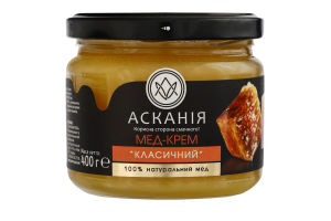 Мед-крем Классический Асканія с/б 400г