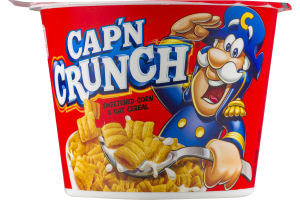 Cap'n Crunch Sweetened Corn & Oat Cereal
