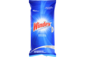 Windex Original Glass & Surface Wipes - 28 PK