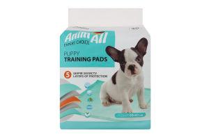 Пелюшки для собак та цуценят 60х60см AnimAll 20шт
