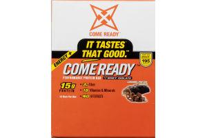 Come Ready Performance Protein Bar Caramel Pretzel Crunch - 12 CT