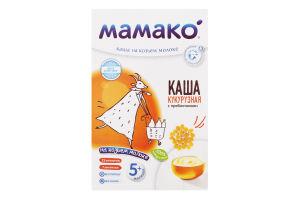 Каша кукурузная на козьем молоке для детей от 5мес с пребиотиками Мамако к/у 200г