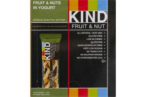 KIND Fruit & Nut Bar Fruit & Nuts In Yogurt - 12 CT