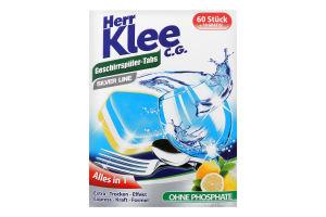 Таблетки для посудомийних машин Herr Klee 70шт