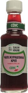Соус чилі журавлина-кріп TatoPepperJam с/пл 210г