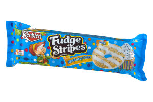 Keebler Fudge Stripes Cookies Birthday Cake