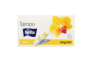Тампоны Tampo Premium comfort Regular Bella б/апл 16шт