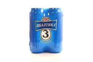 Пиво 4*0.5л Классическое №3 Балтика ж/б