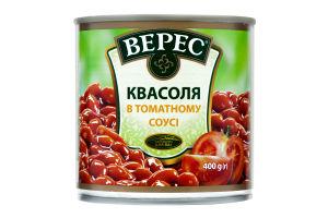 Фасоль в томатном соусе Верес ж/б 400г