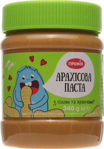 Паста Премія арахисовая с солью и кранчами