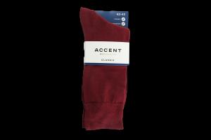 Шкарпетки чоловічі вишневі 0 0078 554 2729 Акцент АКЦЕНТ арт.0785542729