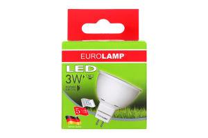 Лампа Eurolamp LED світлодіодна SMD MR16 GU5.3 3Watt 4000K