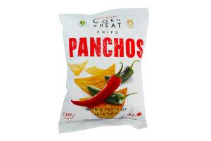 Чипсы пшенично-кукурузные со вкусом халапеньо Panchos м/у 82г