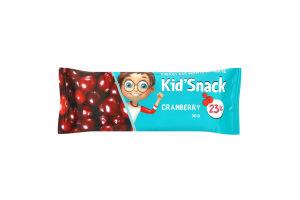 Батончик енергетичний журавлина Kid'Snack м/у 30г