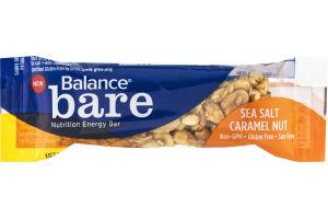 Balance Bare Nutrition Energy Bar Sea Salt Caramel Nut
