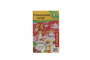 Чай травяной Ромашковый вечер Аромати Природи к/у 20х1.5г
