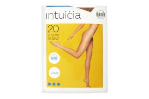 Колготки жіночі Intuicia Classic 20den 3 vizone