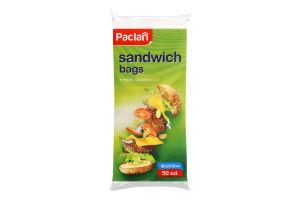Сендвіч-пакети паперові 18х24.5см Paclan 50шт