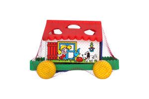 Игрушка для детей от 3лет №6202 Игровой дом Polesie 1шт