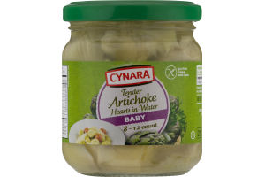 Cynara Artichoke Hearts in Water Baby - 8-12 CT